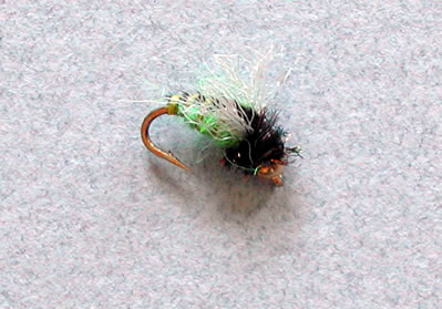 G.B. Mercer's Z Wing Caddis, Green